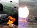 Итоги выходных: Обстрелы под Мариуполем, утонувший вертолет и новый взрыв в Китае