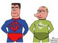 Дым наш: Крым в карикатурах Сергея Елкина