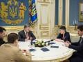 Порошенко встретился с Савченко и предложил ей провести встречи в странах ЕС