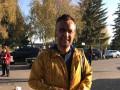 В Полтавской области облили нечистотами известного журналиста
