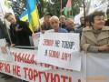 Под Радой протестуют против продажи земли иностранцам