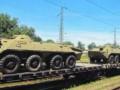 Россия вновь перебросила к границе с Украиной тяжелую военную технику