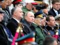 Почему на парад к Путину приехал только президент Молдовы