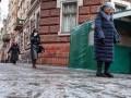 За сутки из-за гололеда пострадали сто киевлян