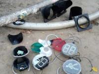 В Киеве вандалы разбили пять светофоров