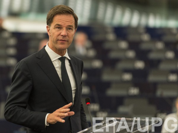 Оппозиция вНидерландах настаивает наотмене ратификации ассоциации с государством Украина