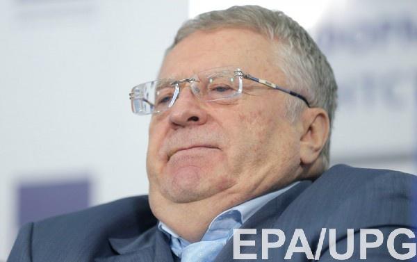 Жириновский не поддерживает финансирование непризнанных республик