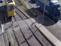 В Харькове трамвай сбил женщину
