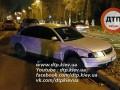 В Киеве Volkswagen в ходе побега протаранил три автомобиля