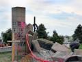 В Польше остатки памятника УПА использовали для ремонта дорог