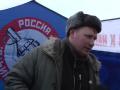 Появилось видео, как москвичка спорит с агитатором Новороссии