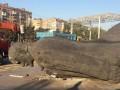 В Мариуполе снесли центральный памятник Ленину (фото)