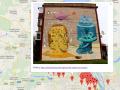 Киевлянин создал карту столичных муралов