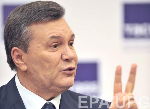 Янукович после долго молчания опять захотел поговорить