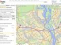 Яндекс.Карты начали составлять маршруты проезда по Киеву на общественном транспорте