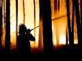 В Германии из-за лесного пожара эвакуировали сотни людей