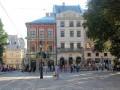 В центре Львова подстрелили уличную скрипачку