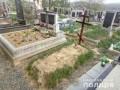 В Мукачево 60-летняя женщина надругалась над могилами