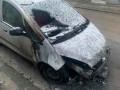 Момент поджога авто журналистки во Львове попал на видео