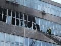 В Киеве горела обувная фабрика, работников эвакуировали