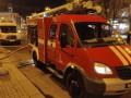 В центре Киева горел ресторан: клиентов эвакуировали в пледах