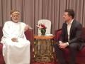 Зеленский встретился с главой МИД Омана