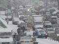 Из-за непогоды в Киеве случилось почти 250 ДТП