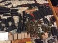 СБУ показала арсенал оружия для ликвидации Авакова