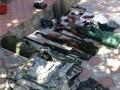 На предприятии Донецкоблгаз нашли схрон оружия и прослушку