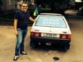 Саакашвили опубликовал снимок с лозунгом «Путин-ху*ло» (фото)