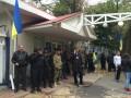 В Киеве захватили Концерн теле- и радиосвязи (фото)