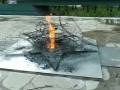 Тульские школьники жарили картошку на Вечном огне и сожгли венки