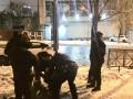 Стрельба в центре Киева: два человека ранены