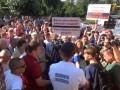 В Донецке к учасникам миссии ОБСЕ снова пришли протестующие