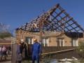 На Кировоградщине стихия рушила дома и с корнями вырывала деревья