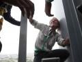 В Сеуле с небоскреба сняли французского