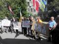 Правый сектор Волыни пикетировал МВД в Киеве