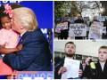 День в фото: поцелуй Трампа, трусы под Радой и депутаты с алкоголем