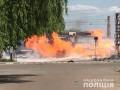 В Житомире сгорела заправка: есть пострадавшие