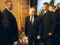 Путин привез цветы на место теракта в Санкт-Петербурге