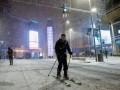 Снегопад в Мадриде: Аэропорт закрыт, дороги перекрыты