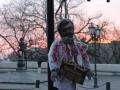 В Одессе повесили чучело Порошенко в