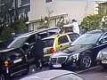 Опубликовано видео момента расстрела гражданина Черногории в Киеве