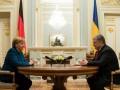 Порошенко обсудил с Меркель выборы в Украине