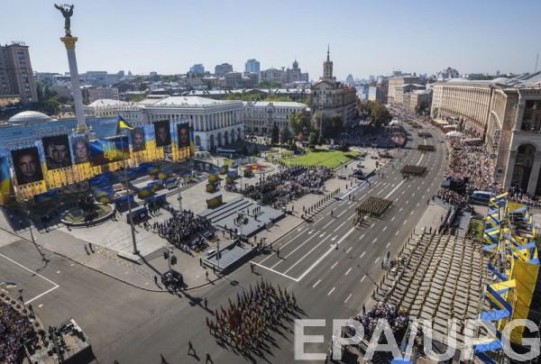 В Центре Киева временно ограничат движение