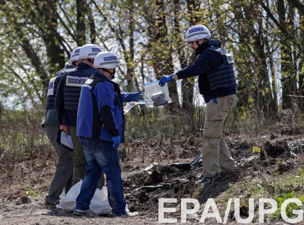 Из-за домогательств патруль ОБСЕ не смог продолжить свою работу