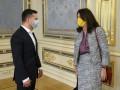 Зеленский пожаловался главе ОБСЕ на боевиков