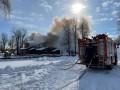 В Киеве ликвидировали масштабный пожар