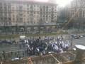 Крещатик перекрыт: у столичной мэрии собралось сразу четыре митинга