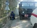 У международного КПП под Одессой нашли минометную мину